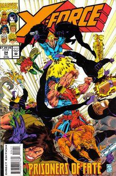 X-Force # 24 by Greg Capullo & Richard Bennett