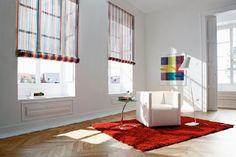 Homeplaza - Verspannte Faltrollos als attraktive Hingucker in jedem Raum - Flexibel, funktional und farbenfroh