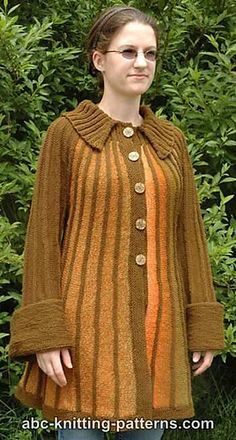 Autumn In Paris Jacket By Elaine Phillips - Free Knitted Pattern - (ravelry)