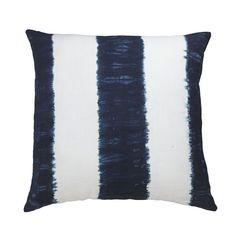 Indigo Stripe Pillow for sofa 2