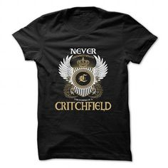 CRITCHFIELD - #gifts for guys #gift friend. TRY => https://www.sunfrog.com/Camping/CRITCHFIELD-85637035-Guys.html?68278