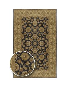 Hand-Tufted Camelot Collection Runner Rug