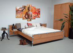 Colourz, gekleurde steigerhouten meubelen   Interieur Inspiratie