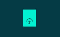 Umbrella by Arian Selimaj, via Behance