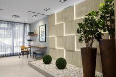 Centros de exhibiciones de estilo por Rita Glória interior design