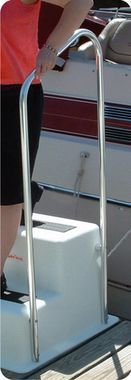 Taylor Made StepSafe™ Dock Steps Triple Tread Handrail