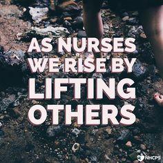 Together, we rise!  #nurse #nurses #nursing #nursingschool #medicalschool #medschool #studentnurse # #nurselife #nurseslife #rn #ems #cna #medicalassistant #pa #school #inspo #inspiring #quote #motivation #dontgiveup