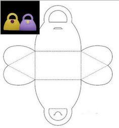 Como hacer bolsitas en goma eva   Molde de mariposa  Molde de bolsita   Te contamos paso a paso como realizar esta sencilla manualidad . Se...