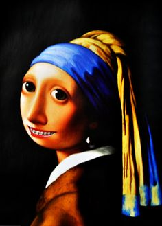 Girl with a Pearl earring - author unknown