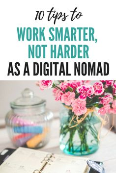 Being a digital nomad requiers good time management. How to be more productive and have more time to travel? Read my 10 tips.