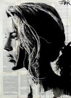 "Saatchi Art Artist Loui Jover; Drawing, ""tigerlily"" #art"