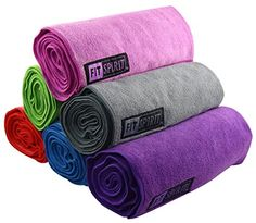 Fit Spirit® Set of 2 Super Absorbent Microfiber Non Slip Skidless Yoga Hand Towels (15 Fit Spirit http://smile.amazon.com/dp/B00VXTUO80/ref=cm_sw_r_pi_dp_AlF3wb0ZYXF4N