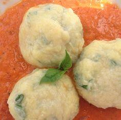 gnudi are like gnocchi, but easier!