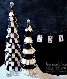 duct tape christmas trees, christmas decorations, crafts, seasonal holiday decor