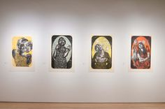 Highpoint Printmaking Exhibit Sus Voces: Women Printmakers from Mexico 160219a0227.NEF