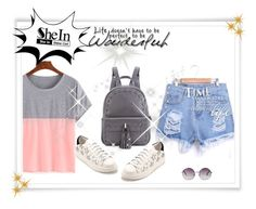 """""""SheIn 10/VI"""" by hedija-okanovic ❤ liked on Polyvore featuring Monki and shein"""