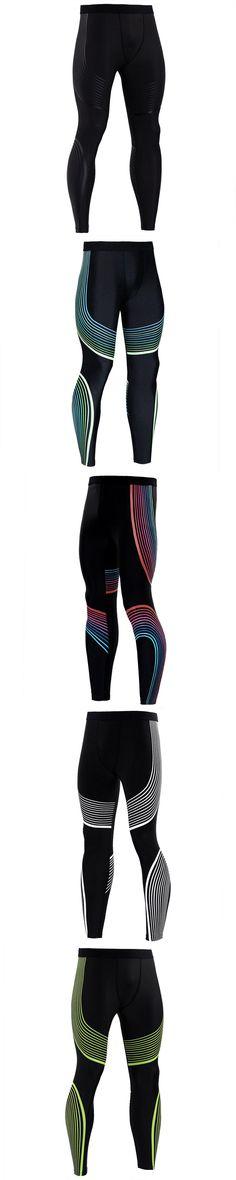 2017 Fashion Skinny Sweatpants For Men Compression Pants Men Fashion Leggings Men Jogger Men 3D Fitness Pants Elastic Trousers