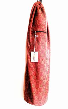 Saree Fabric Yoga Mat Bag