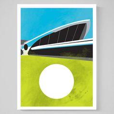 TWA Saarinen Framed now featured on Fab.