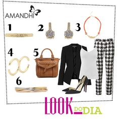 Look do Dia - Elegância Contemporânea | Amandhí | www.amandhi.com