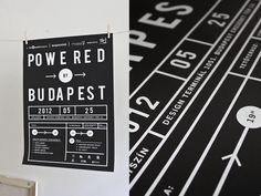 Powered by Budapest by Gergely Szoke, via Behance