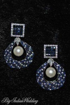 d71f8eedb Amaris Jewels by Prerna Rajpal Bridal jewellery | Jewellery |  Bigindianwedding Sapphire Jewelry, Diamond Jewelry