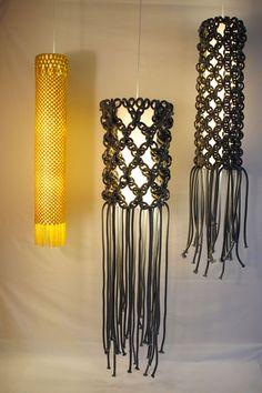 Leuchten von Seilgeschichten - Wohnen mit Strick 16 - [SCHÖNER WOHNEN]
