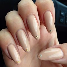 Long and nude nails by @nikki striefler striefler striefler striefler Make-Up