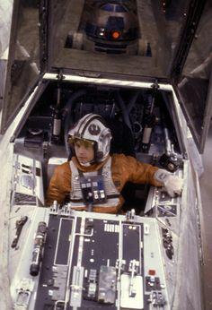 """X-wing cockpit ¡Me encanta! Cuando era niño soñaba con pilotar un """"Ala X"""" :)"""