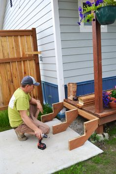 Deck stairs diy outdoor 29 New ideas