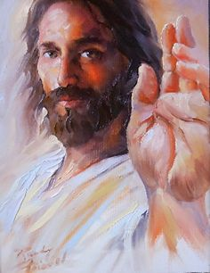 """""""Faith Has Saved You"""" Giclee print by Randy Friemel Giclee Print ~ 14 x 11 God and Jesus Christ Images Du Christ, Pictures Of Jesus Christ, Catholic Art, Religious Art, Image Jesus, Jesus E Maria, Jesus Tattoo, Jesus Painting, Jesus Face"""