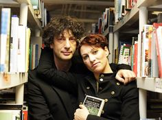 Neil Gaiman and Amanda Palmer, I fucking love these two... together and apart.