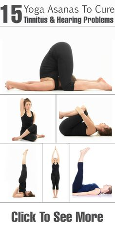 8 Yoga Asanas That May Help Relieve Tinnitus - 8 Yoga Asanas That May Help Relieve Tinnitus 15 Yoga Asanas To Cure Tinnitus & Hearing Problems : Check out the best 15 tinnitus yoga poses & breathing techniques to combat the condition. Tinnitus Symptoms, Yoga Bewegungen, Hearing Problems, Yoga Posen, Breathing Techniques, Hearing Aids, Yoga Benefits, Yoga Photography, Healthy Life
