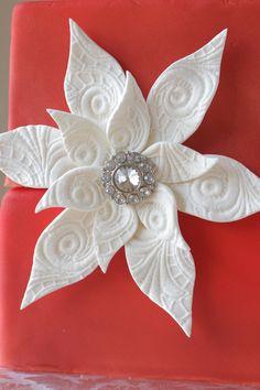 Lace Mold Gumpaste Flower {Season of Sweets}