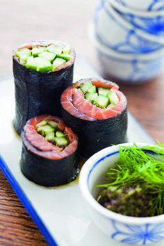 riceless rolls Low Carb Recipes, Cooking Recipes, Healthy Recipes, Healthy Eats, Healthy Life, Sushi, Asian Recipes, Ethnic Recipes, Vegetarian Keto