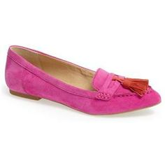 sperry suede pointy toe tassel loafer {40% now during Nordstrom's Half Yearly Sale!!}