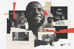 LeBron James Hosting Pick-Up Games in Shanghai, Paris, & Berlin Sports Graphic Design, Graphic Design Posters, Graphic Design Inspiration, Sport Design, Collage Design, Print Design, Design Design, Design Trends, Lebron James
