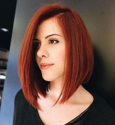 In this article, we will discuss some Popular Bob Hairstyles 2019 that you will like! Salt and pepper angled bob is a great hairstyle. Red Bob Hair, Bob Hair Color, Wavy Bob Hairstyles, Long Bob Haircuts, Hairstyles 2018, Short Haircut Styles, Long Hair Styles, Lob Haircut, Auburn