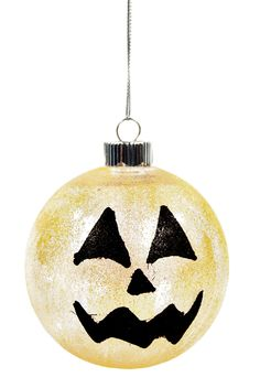 Jack-O-Lantern Ornament #kids #craft #halloween