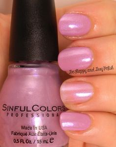 Sinful Colors Sheer Genius over Beverly Hills | Be Happy And Buy Polish http://behappyandbuypolish.com/2014/06/25/sinful-colors-sheer-trio-nail-polishes/