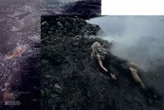 Inspirations of Lillith: Vogue Italia - Water and Oil by Steven Meisel