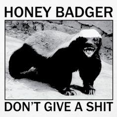 honey badger... love Randal!
