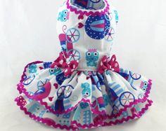 Silver Princess Dog Dress by LOLADOGdesigns on Etsy