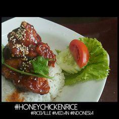 #honeychickenrice #riceville #medan #indonesia