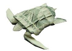 one dollar bill origami
