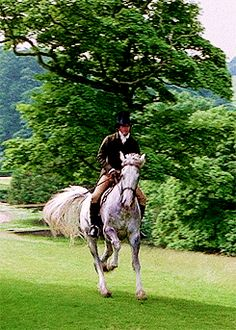 Pride and Prejudice. So I'm actually obsessed with his horse