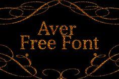 DLOLLEYS HELP: Aver Free Font