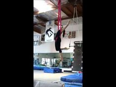 Aerial Hammock drop sequence - YouTube