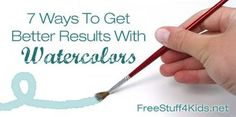 7 ways to get better results with watercolors