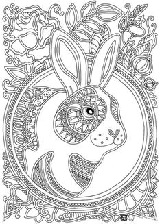 Wind Carries Flowers Coloring Book : Olga Goloveshkin   Labyrinth Books